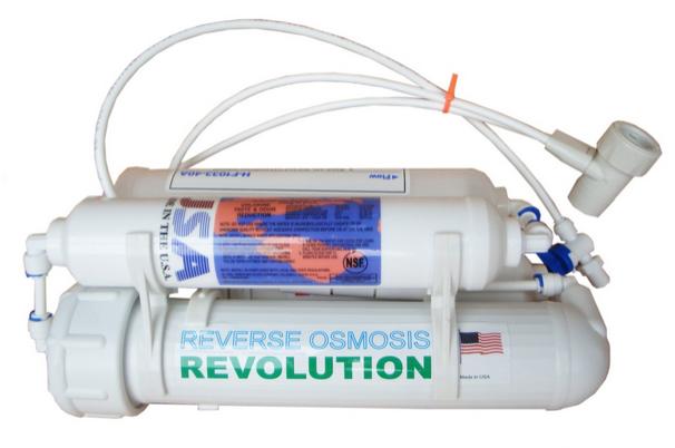 Cheap countertop reverse osmosis system