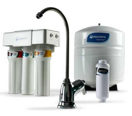 Aquasana reverse osmosis filter with remineralization